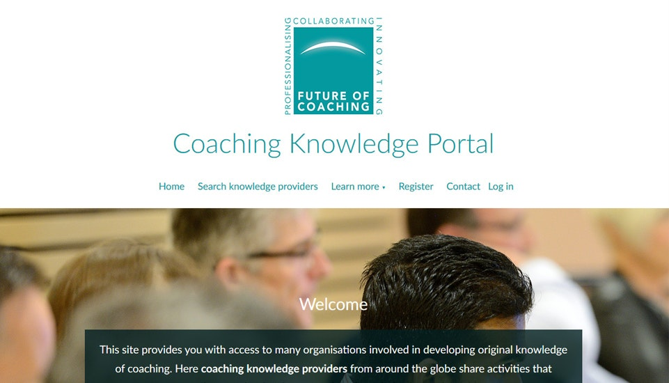 The Future of Coaching - Professionalising, collaborating, innovating