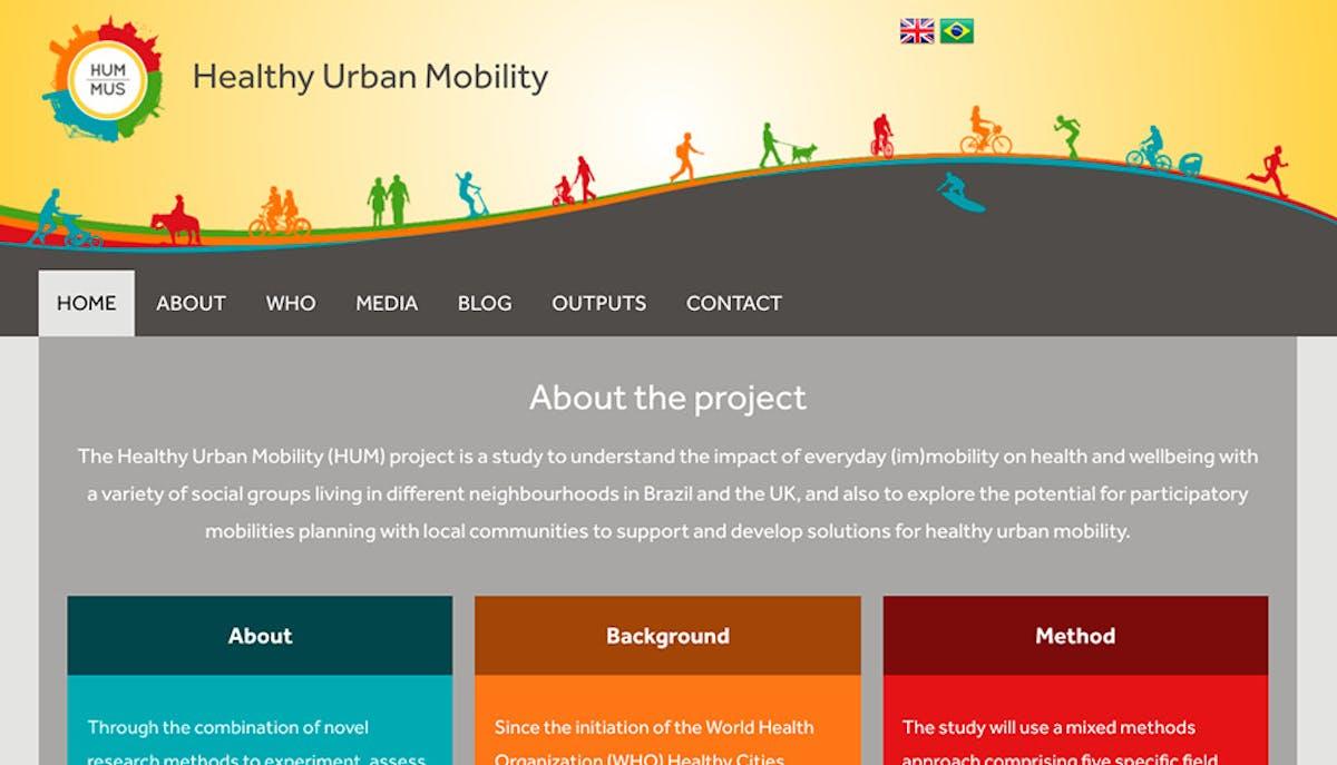 Healthy Urban Mobility | Mobilidade Urbana Saudável